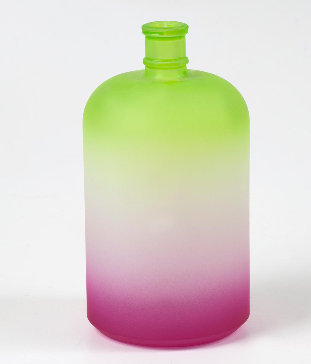 Envase de cristal decorado
